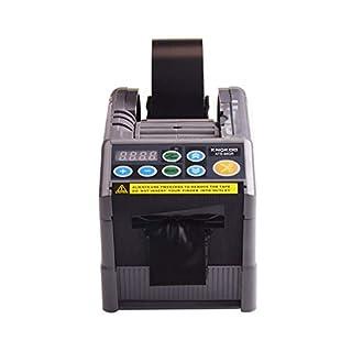 KNOKOO ZCUT-9 / RT-7000 Automatische Bandabroller Upgrades ATD-60GR Electronic Packaging Klebebandspender Klebstoff mit Cycle Cutting-Funktionen, Max Bandbreite 60 mm, 6 voreingestellte Schnittlängen