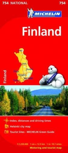 Finlandia 1:250.000 (Carte nazionali) por Michelin