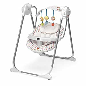 Chicco 4079110090000 altalena polly swing up flower for Altalena chicco amazon