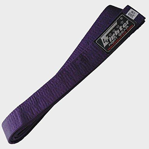 4Fighter Karate Gürtel lila in 260cm und 300cm