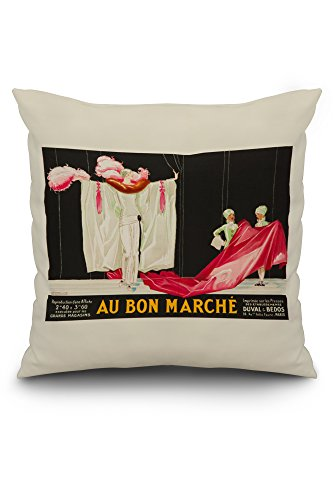 au-bon-marche-vintage-poster-artist-vincent-france-20x20-spun-polyester-pillow-cover-black-border