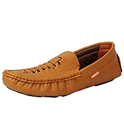 Fausto 3539-41 Tan Mens Loafers