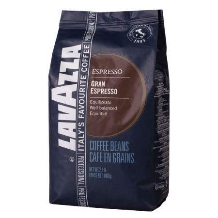 Lavazza Kaffee Gran Espresso, ganze Bohnen, Bohnenkaffee (6 x 1kg Packung)