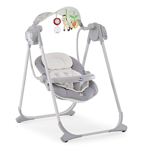 Chicco - 7079110490000 - Polly Swing Up - Balancelle - Silver