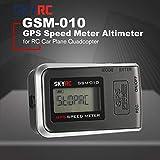 Lorenlli Altimètre Compact de Compteur de Vitesse GPS de Haute précision GSM-010...