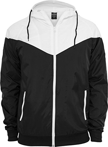 Urban Classics Herren Jacke Arrow Windrunner Red/Black