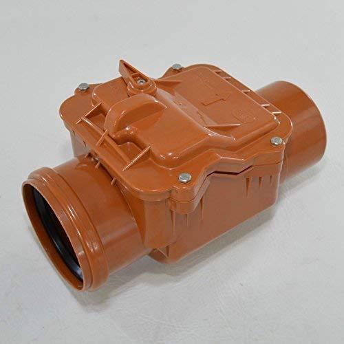 Capricorn Clapet anti-retour Fermeture kg tubes Ø 50, 75,110, 110Double, 125,160,200 75mm