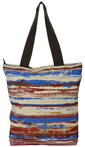 Pick Pocket Women's Tote Bag (Multi-Coloured, Toin313)  available at amazon for Rs.149