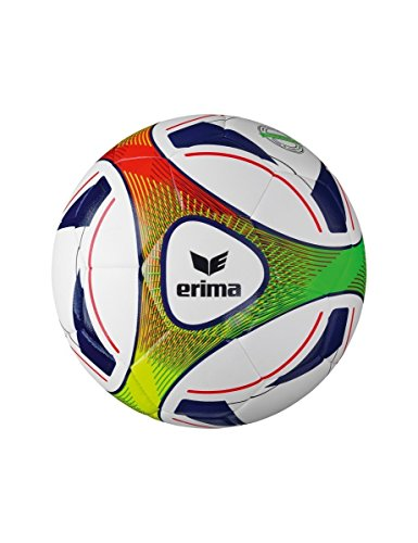 Erima Hybrid Training Fußball, Dark Blue/Rot, 5