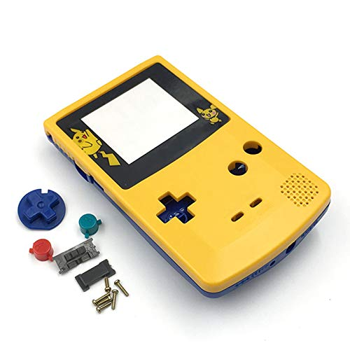 Search For Flights De-housing Gameboy Color Pikachu Black New Video Game Accessories