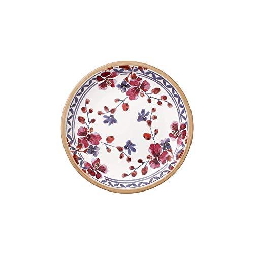 Villeroy & Boch 10-4152-2660 Artesano Provencal Lavendel Brotteller, 16 cm, Premium Porzellan