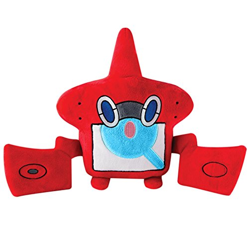 Quality Soft Toy Pokemon Rotom T19352 – Tomy Large Plush Toy Collecting 25 cm Soft Toy Suitable from 3 years, Assorted Colours
