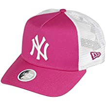 New Era York Yankees Frame Women Trucker cap League Essential Pink White -  One- feeafd19c285