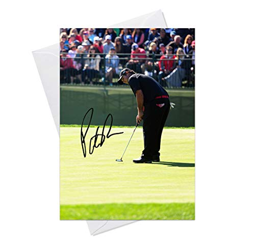 Patrick Reed Masters Golf 1 - Quality Greeting Card for any Occasion (Birthday, Christmas, Thank you, Engagement, Anniversary etc) -