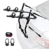 Leader Accessories Fahrradträger faltbar Heckträger flexibel einsatzbar Fahrradheckträger 2 Fahrräder