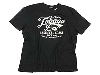 schwarzes t shirt mit wei em druck von kitaro gr e 8xl bekleidung. Black Bedroom Furniture Sets. Home Design Ideas