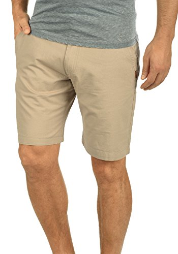!Solid Thement Herren Chino Shorts Bermuda Kurze Hose Aus 100% Baumwolle Regular Fit, Größe:M, Farbe:Dune (5409) Fit-chino