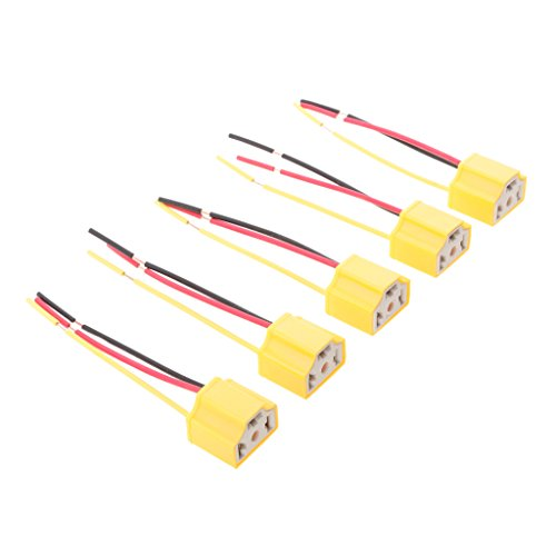 Preisvergleich Produktbild Baoblaze Auto Lkw Keramik H4 Scheinwerfer Stecker Lampe Lampenfassungen Universal Ersatz