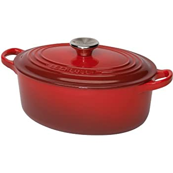 le creuset tradition cocotte en fonte ovale cerise 27cm 21002270602461 cuisine maison. Black Bedroom Furniture Sets. Home Design Ideas