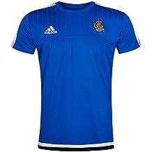 Adidas RS TRG JSY Camiseta Real Sociedad 2015-2016, Hombre