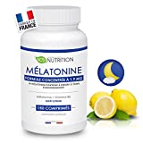 Mélatonine 1,9mg - 150 nuits : Régulateur de l'horloge biologique | Pulsions de grignotage | Fabriqué en France | Vitamine du...