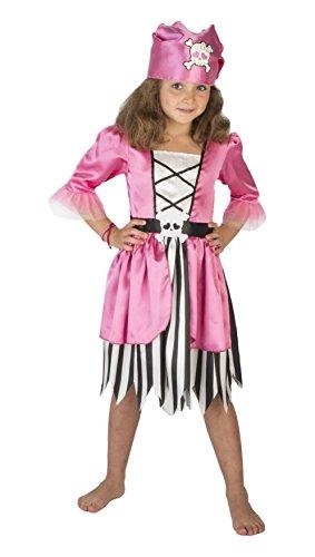 Caraibes Des Kostüm Pirate - Upyaa-430135-Kleine Pirat-3-4Jahre-Rosa