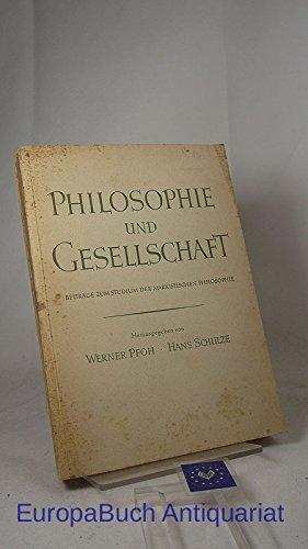 Download Philosophie und Gesellschaft