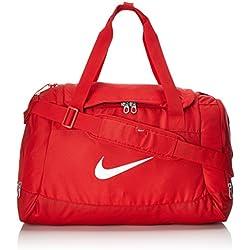 Nike Club Team Swoosh Duffel S Bolsa de Deporte, 40 cm, 43 Liters, Rojo (Rot)