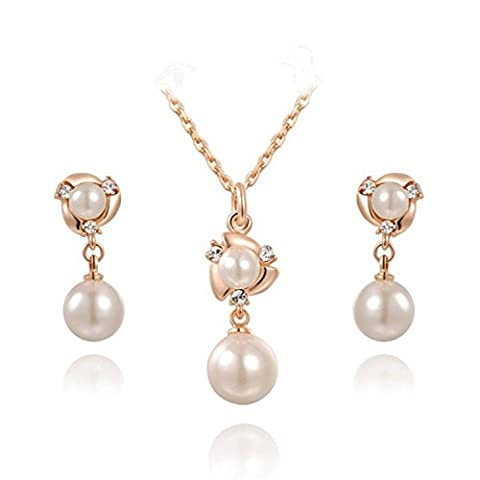 George Smith Blanc perle Boucles d