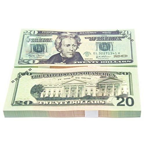 Prima05Sally 10 Teile/Satz Lustige Amerikanische Goldfolie Dollar Banknote Falschgeld Kunsthandwerk Hoch Sammlung Kunsthandwerk Liefert -
