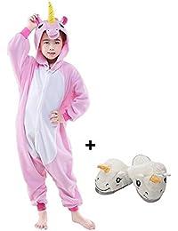 1e83a45d1acbe Animal Pyjama Kiguruma Combinaison Vêtement de Nuit Cosplay Costume  Déguisement pour Enfant Unisex