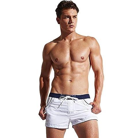 Shorts de Bain Pour Hommes Surfing Shorts de Plage Quick Dry Swim Trunks with Pockets , xxl