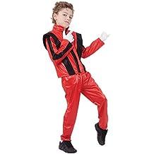 Bristol Novelty CC818 Pantalones/Chaqueta de Super Estrella, Mediano, Rojo, Edad aprox