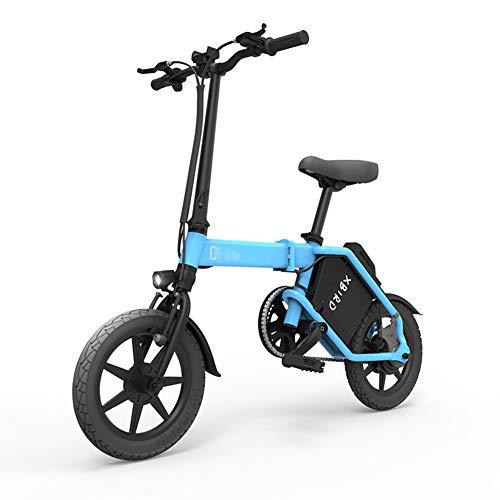 ABYYLH Elektrofahrrad Klappbar Herren/Damen Faltbar E-Bike Roller Adult E-faltrad,Blue