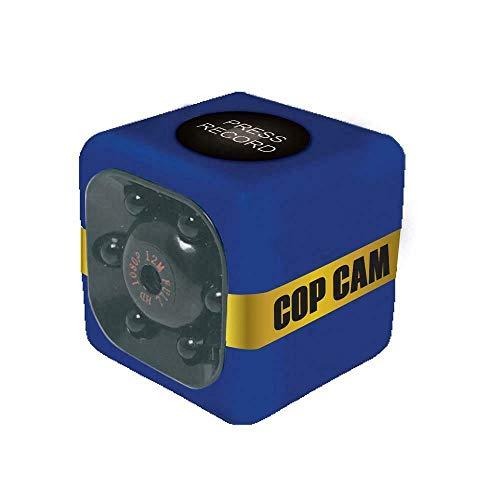 Jeval Atomic Beam Cop Cam Mini Wireless Security Camera,Dash,Body,Sports,Nanny Cam,HD Recording and Night Vision