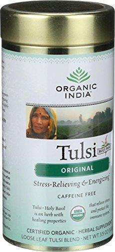 Organic India - Organic Tulsi Tea - Original - Loose Leaf - 3.5 oz