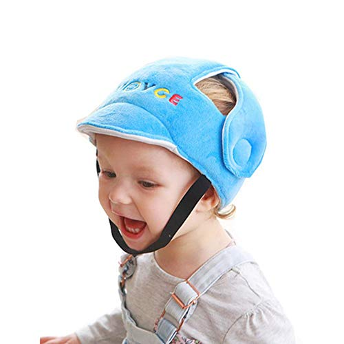 popchilli Baby Toddler Safety Helmet Baby Anti-Drop Headgear Pad Baby Toddler Bump Kid Children Safety Helmet Headgear Artifact for Newborns & Toddlers Various Sizes - Ultra Suede Cap
