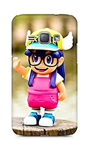 Amez designer printed 3d premium high quality back case cover for Samsung Galaxy J1 (2016 EDITION) (Cute doll)