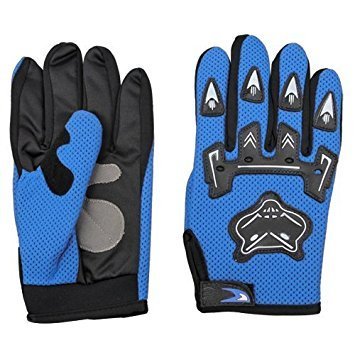 SODIAL(R)1 Paar Motorrad Radfahren Sport Training Handschutz Handschuhe