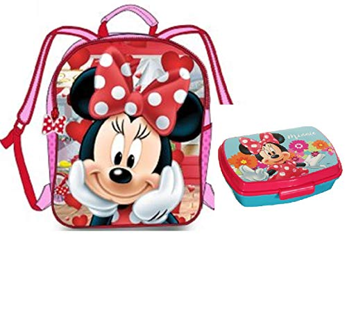 Mochila Minnie - Fiambrera Minnie Disney