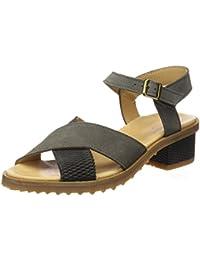 El Naturalista N5015, Zapatos de Tacón con Punta Abierta para Mujer