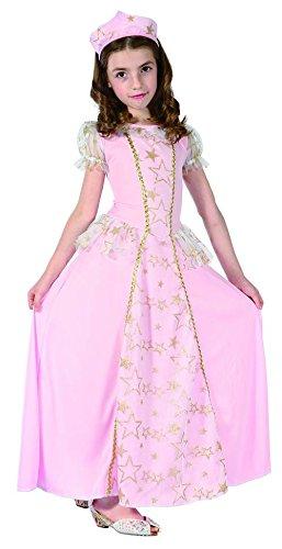 Kostüm Trasparente - Generique Costume principessa rosa bambina 10/12 anni (140/152)