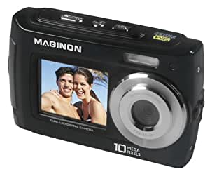 Maginon Splash 110 Underwater Camera up to 3m - 10 Mpix. 8x Digital Zoom, Photo & Video, 4GB micro SD card (BLACK)