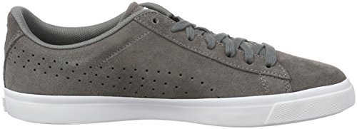 Puma Court Star Vulc Suede, Baskets Basses Homme Gris - Grau (Steel Gray-puma White 04)