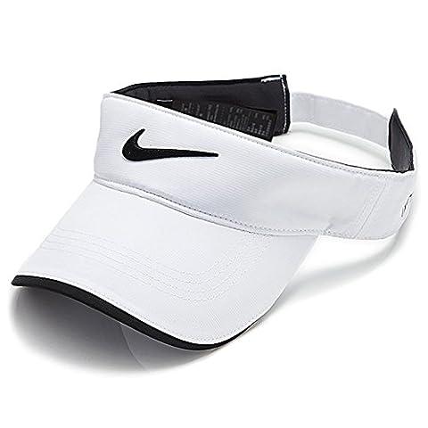 Nike Tech Swoosh Visor Golf tour (White)