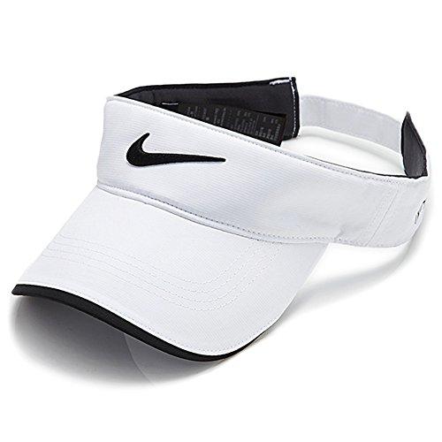 Nike Tech Visière golf avec logo virgule 'Swoosh', blanc
