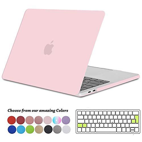 TECOOL Funda MacBook Pro 13 2016 2017 2018 2019, Plástico