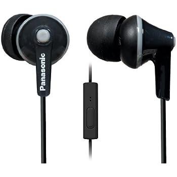 Panasonic RP-TCM125 Ergo Fit Stereo Headset (Black): Buy ...