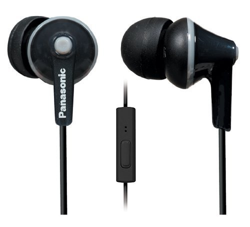 Panasonic RP-TCM 125 E-K Cuffie In-Ear, Nero