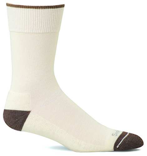 Sockwell Damen Easy Does It Relaxed Fit/Diabetiker Freundlicher Socken gebrochenes weiß Natur Small/Medium (Diabetes 2014)